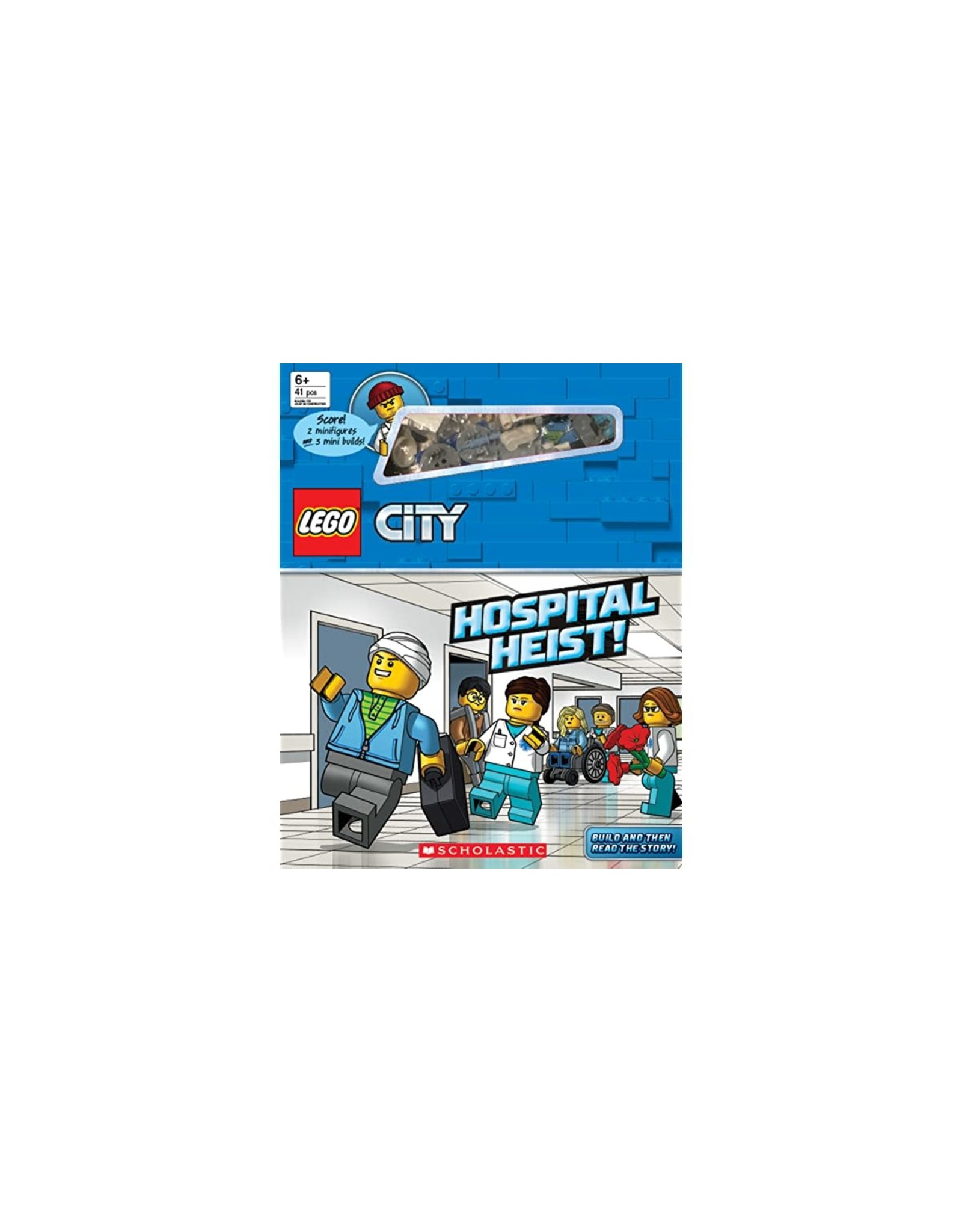 LEGO City: Hospital Heist! (Storybook with minifigures and minibuilds)