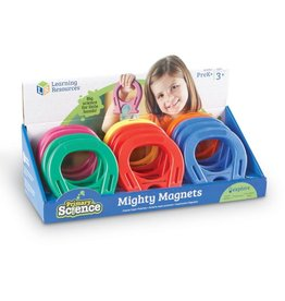 Learning Resources Primary Science Mighty Magnets Asst.