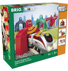 Brio BRIO Smart Engine Set with Action Tunnels