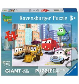Ravensburger The Stinky & Dirty Show - All the Friends - Floor Puzzle