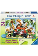 Ravensburger 4-Wheeling 24pc Floor Puzzle