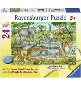 Ravensburger Watering Hole Delight 24 pc Floor Puzzle