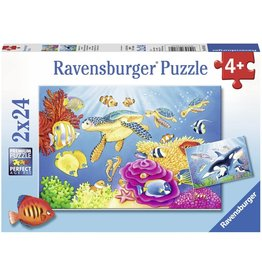 Ravensburger Vibrance Under the Sea 2x24pc
