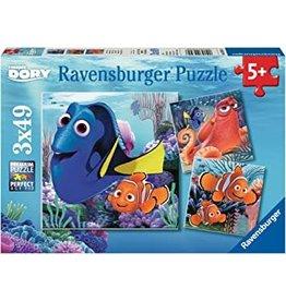 Ravensburger Finding Dory 3x49pc
