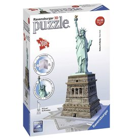 Ravensburger 3D Statue of Liberty 108 pc