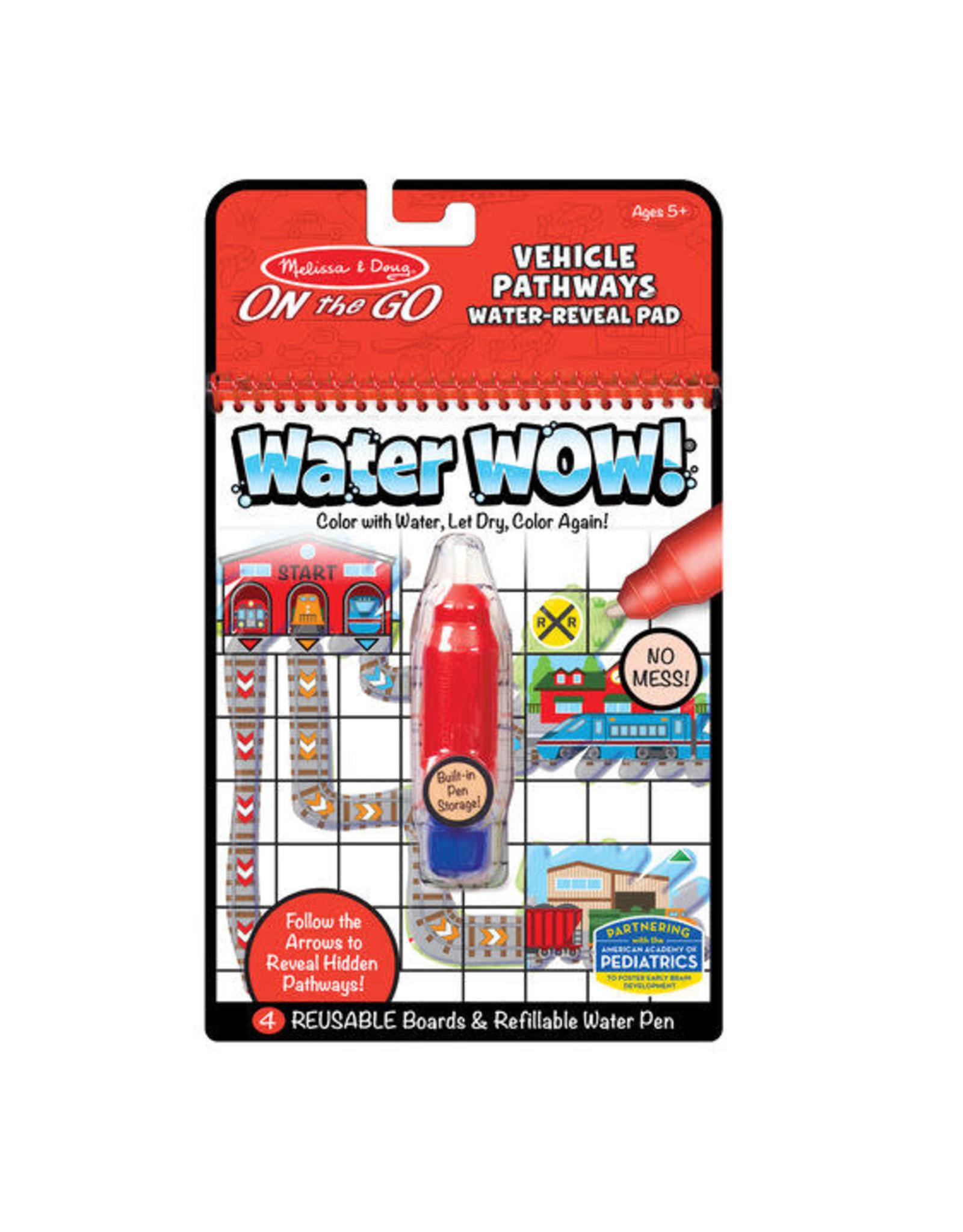 Melissa & Doug Melissa & Doug: Water Wow! Vehicles Pathways