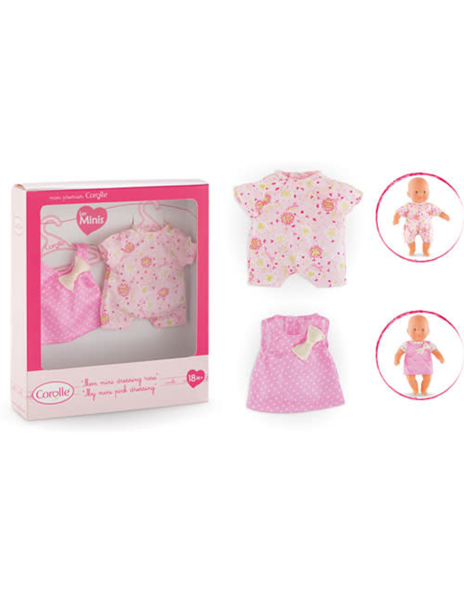 Corolle Corolle My Mini Pink Dressing - CLEARANCE FINAL SALE