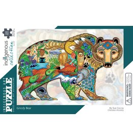 Indigenous Collection Grizzly Bear 1000 pc