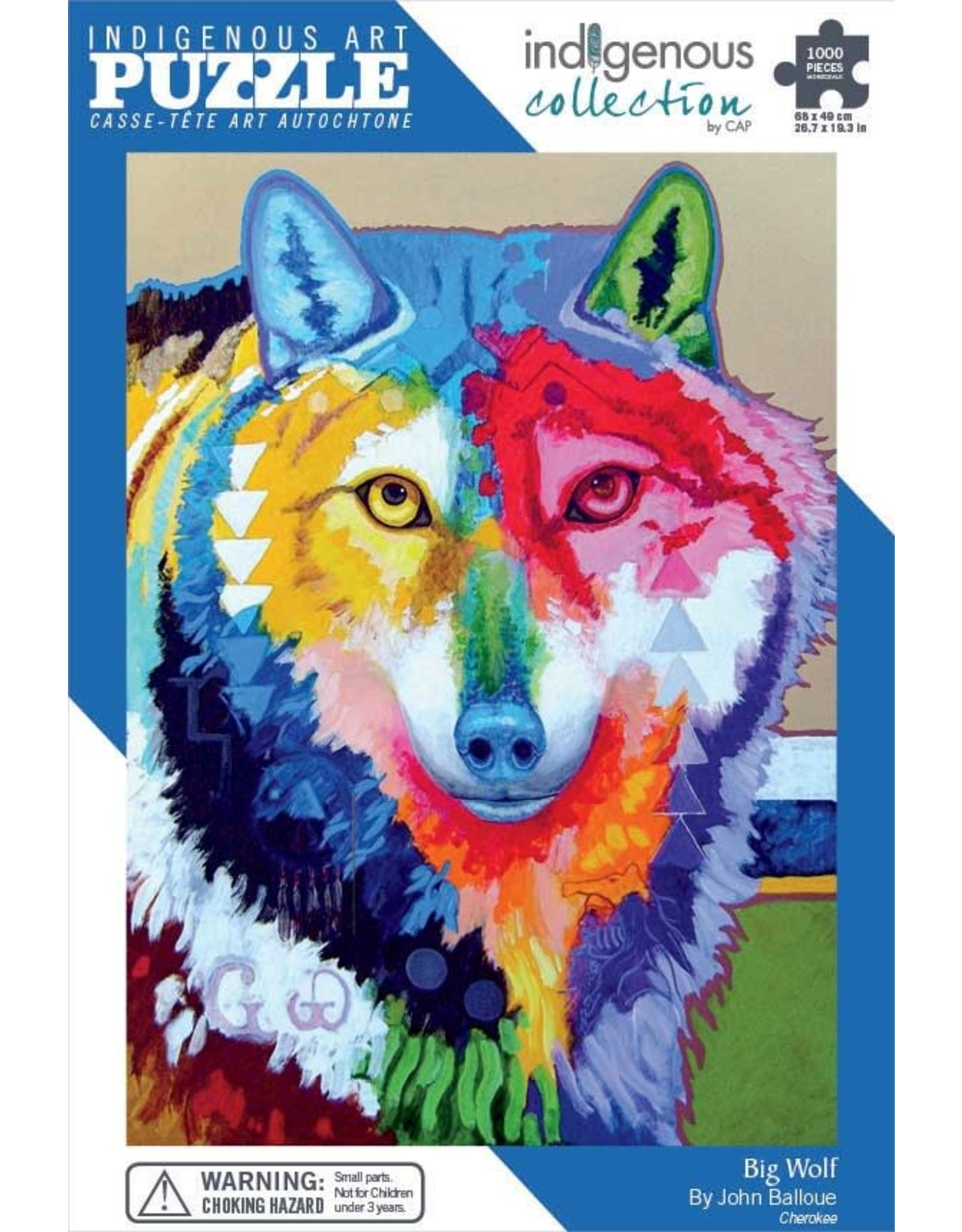 Indigenous Collection Big Wolf 1000pc