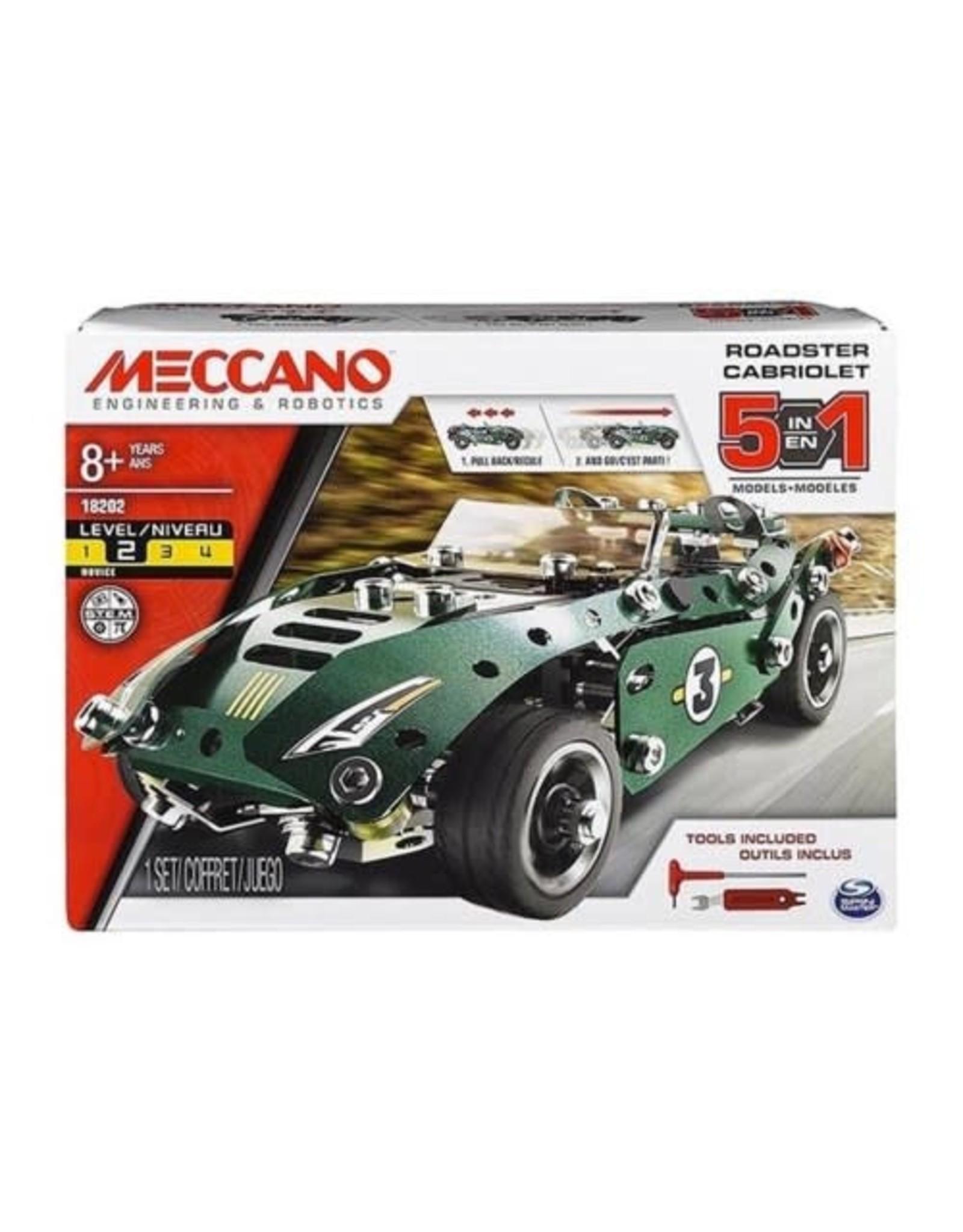 Meccano - 5 Model Set Pull Back Car