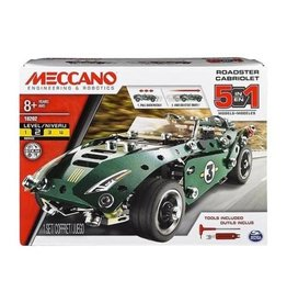 Meccano - 5 Model Set Pull Back Car