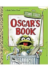 Little Golden Books Oscar's Book - LGB