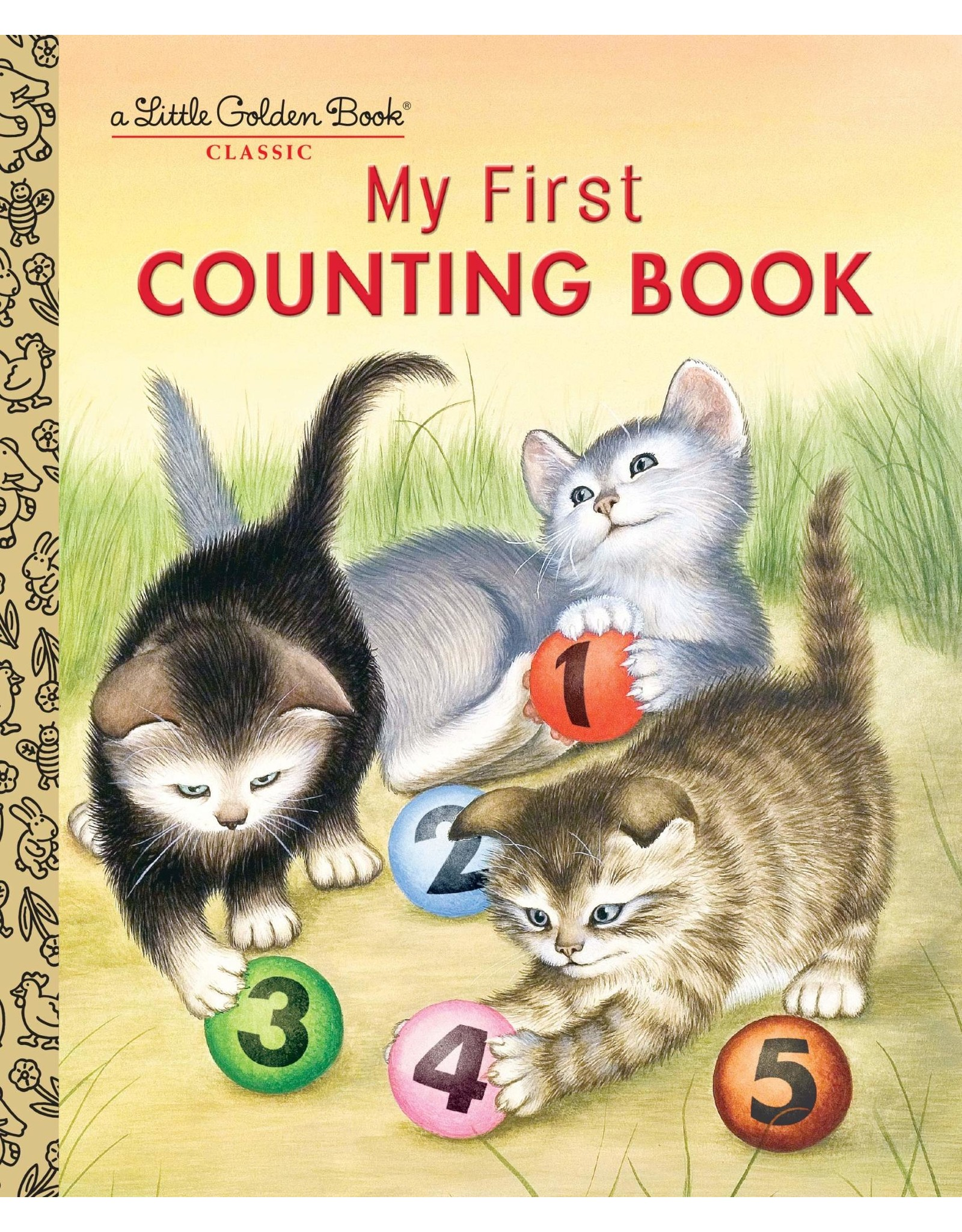 Little Golden Books My First Counting Book - LGB
