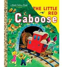 Little Golden Books The Little Red Caboose - LGB