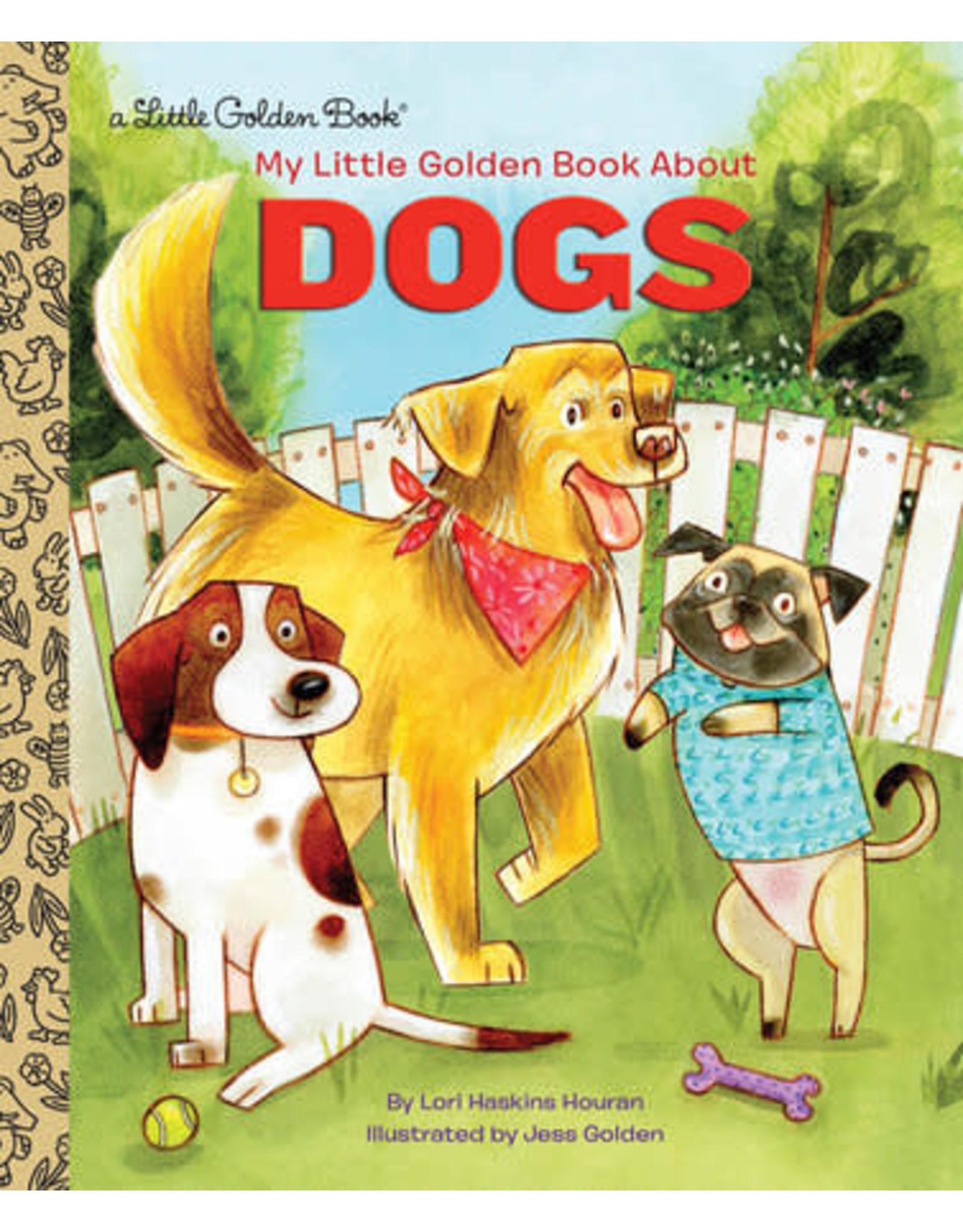 Little Golden Books My Little Golden Book About Dogs