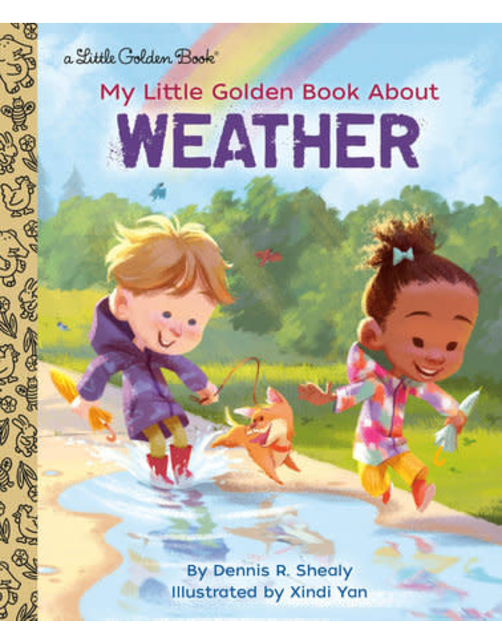 Little Golden Books My Little Golden Book About Weather