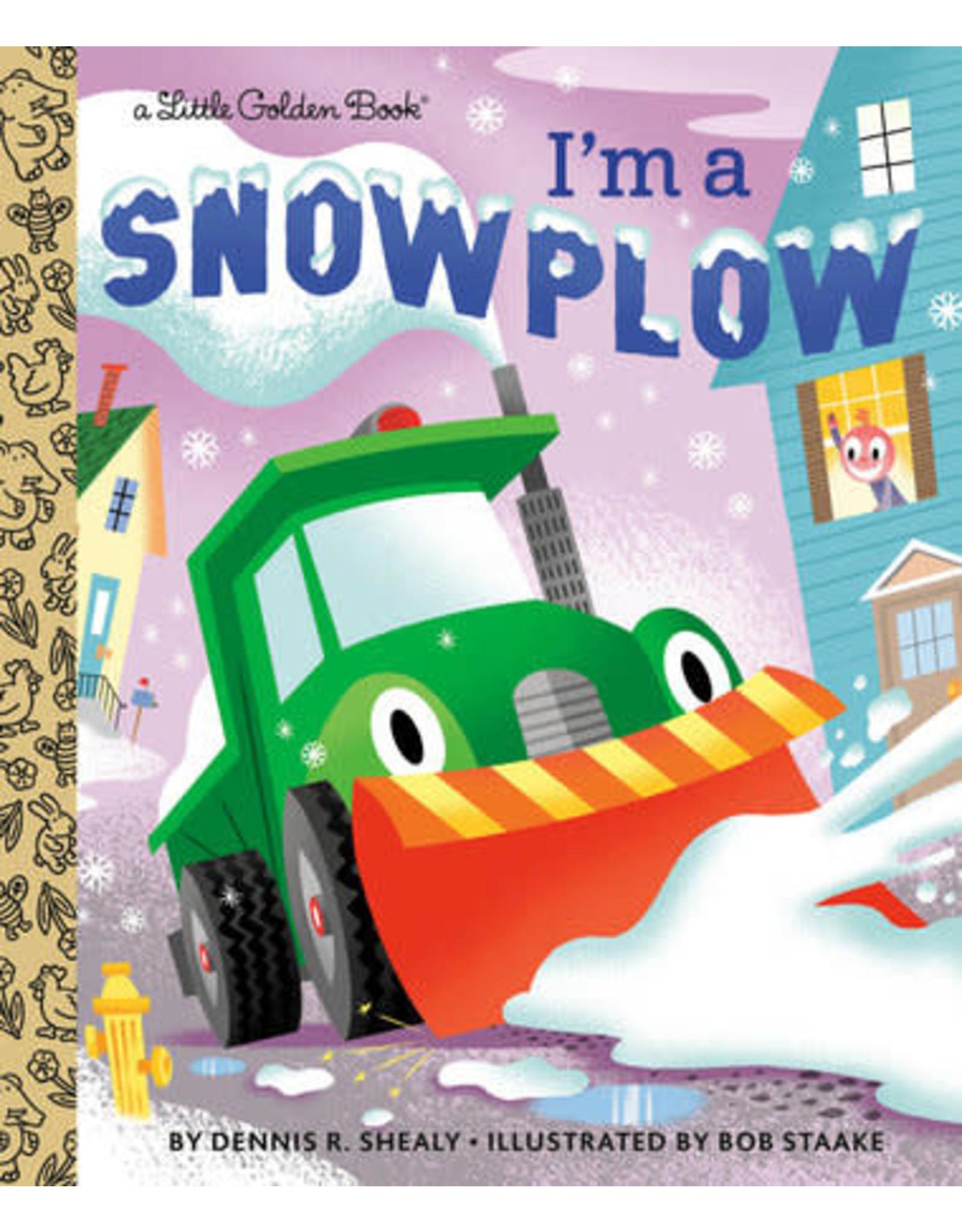 Little Golden Books I'm a Snowplow - LGB