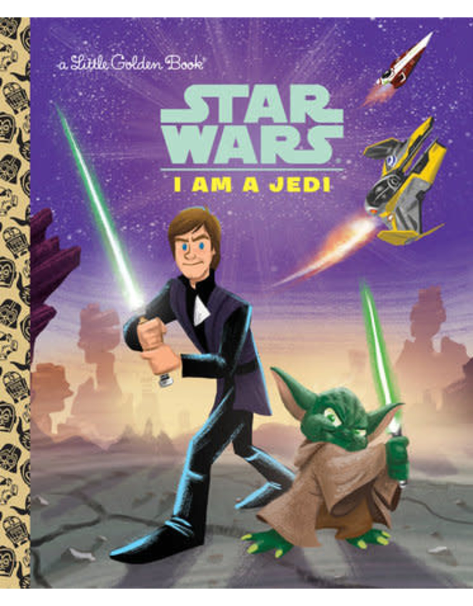 Little Golden Books I Am a Jedi - LGB