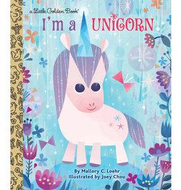Little Golden Books I'm A Unicorn - LGB