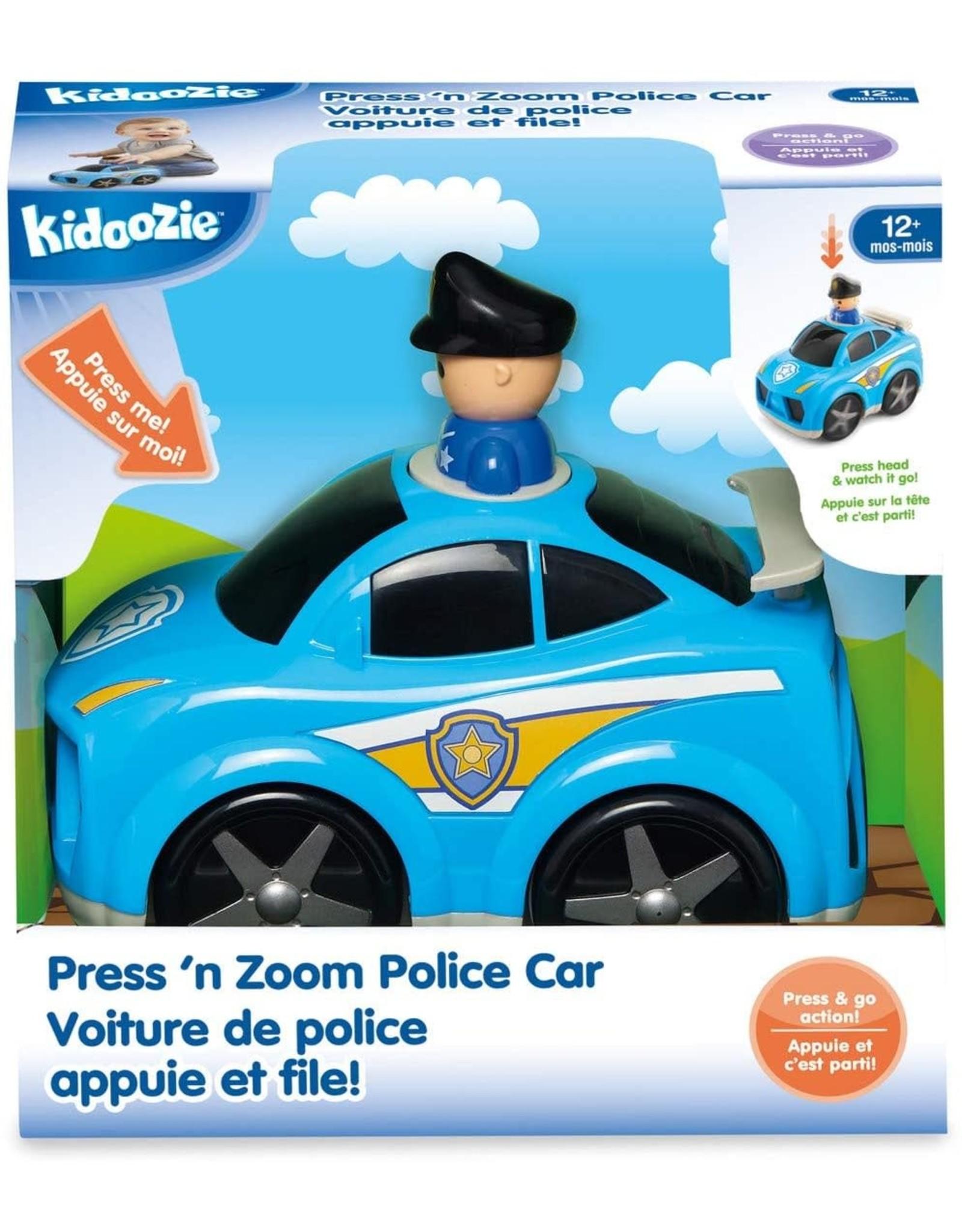 Press N Zoom Police Car Kidoozie