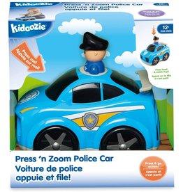 Kidoozie Press N Zoom Police Car