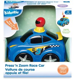 Press N Zoom Race Car Kidoozie
