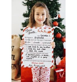 Love Designs Dear Santa Reusable Board
