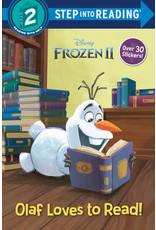 Step Into Reading Olaf Loves to Read
