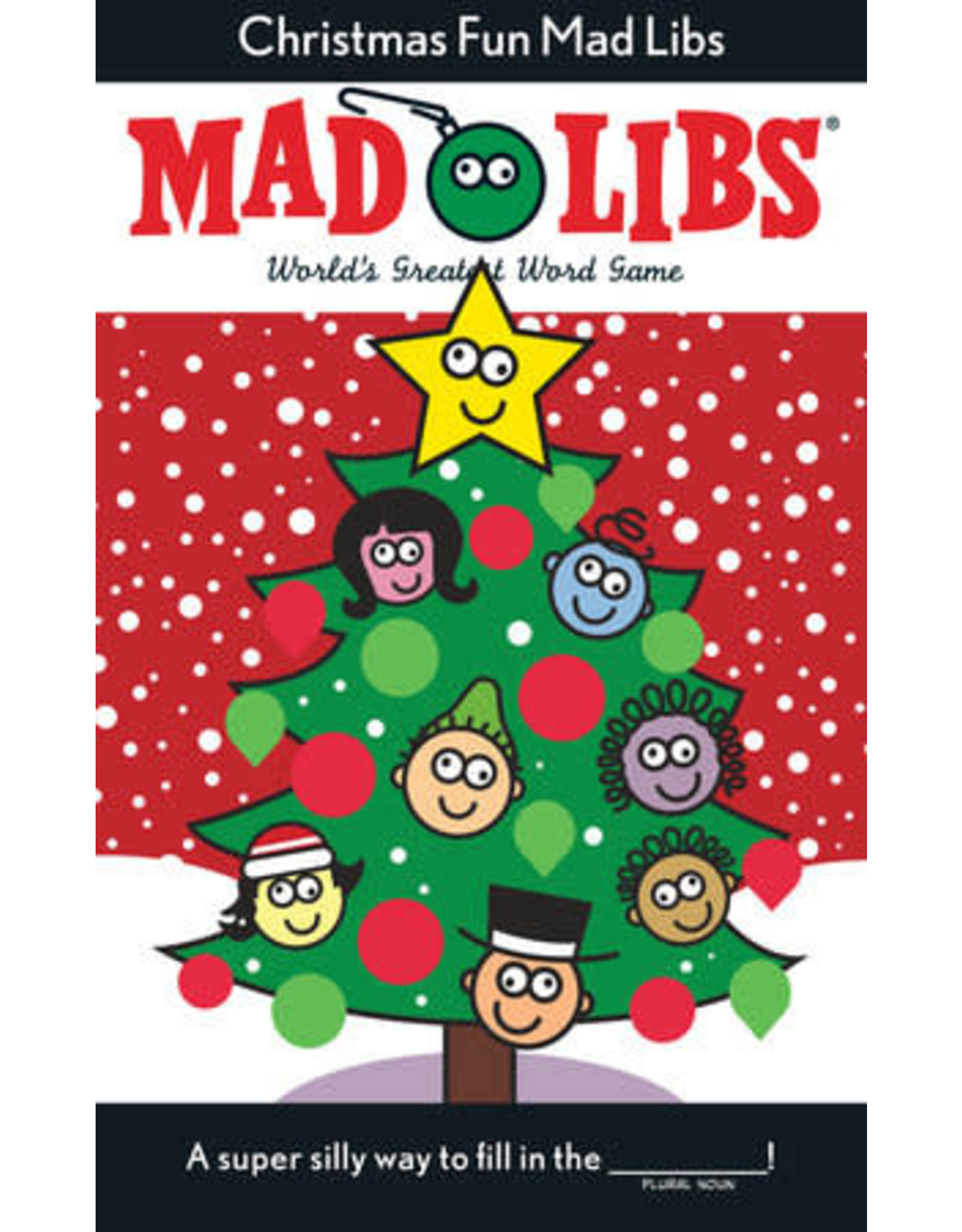 Mad Libs Christmas Fun Mad Libs Deluxe