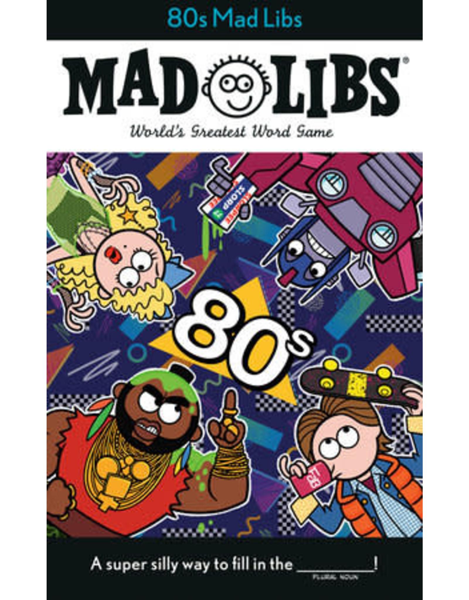 80s Mad Libs