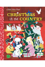 Little Golden Books Christmas in the Country - LGB
