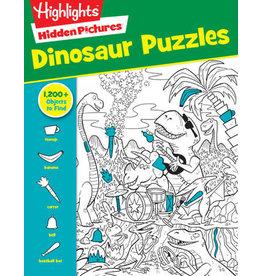 Highlights Hidden Puzzles Dinosaur Puzzles