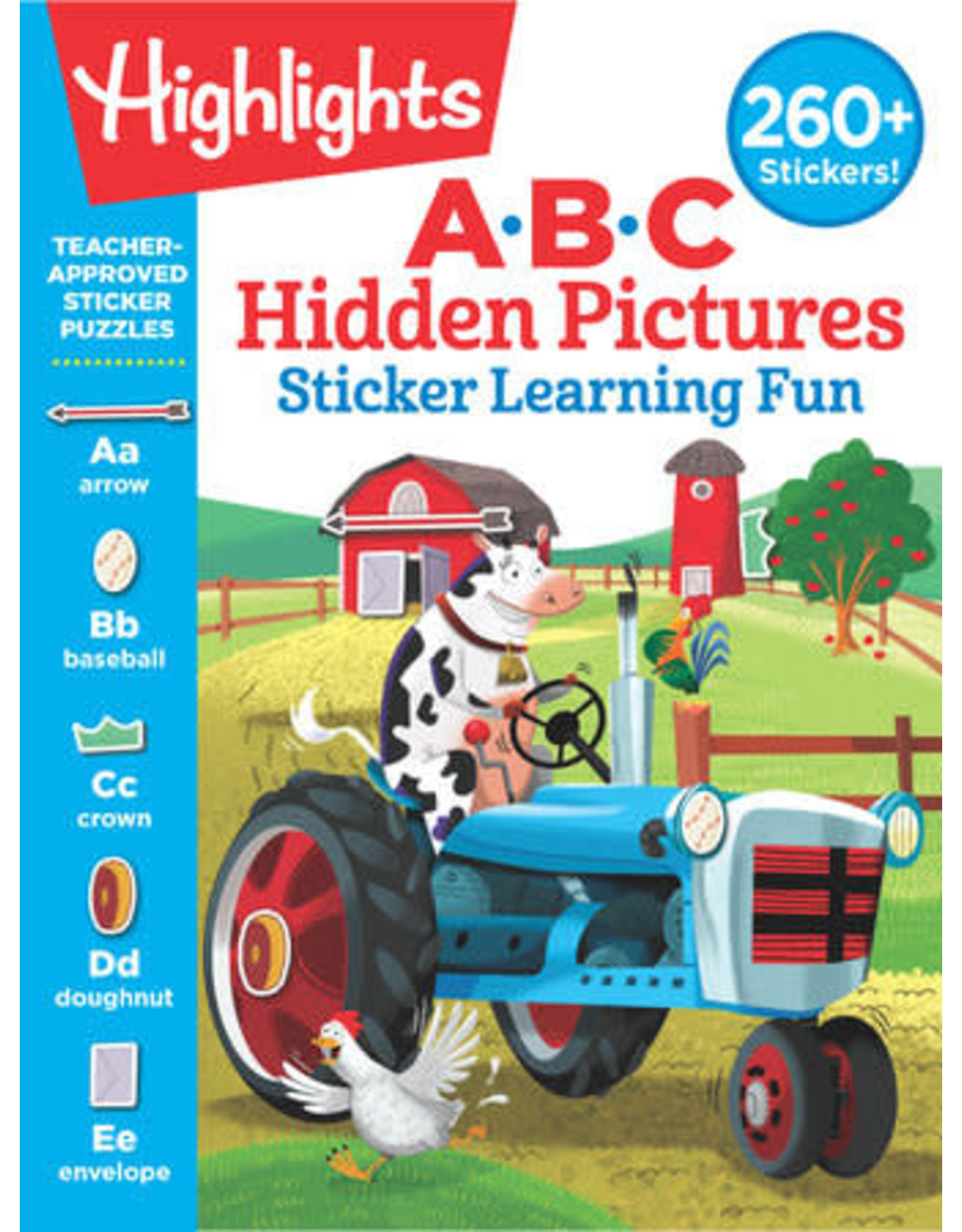 Highlights Highlights ABC Hidden Pictures Sticker Learning Fun