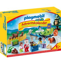 Playmobil Playmobil 1.2.3 Advent Calendar 2020