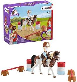 Schleich Hannah's Western Riding Set