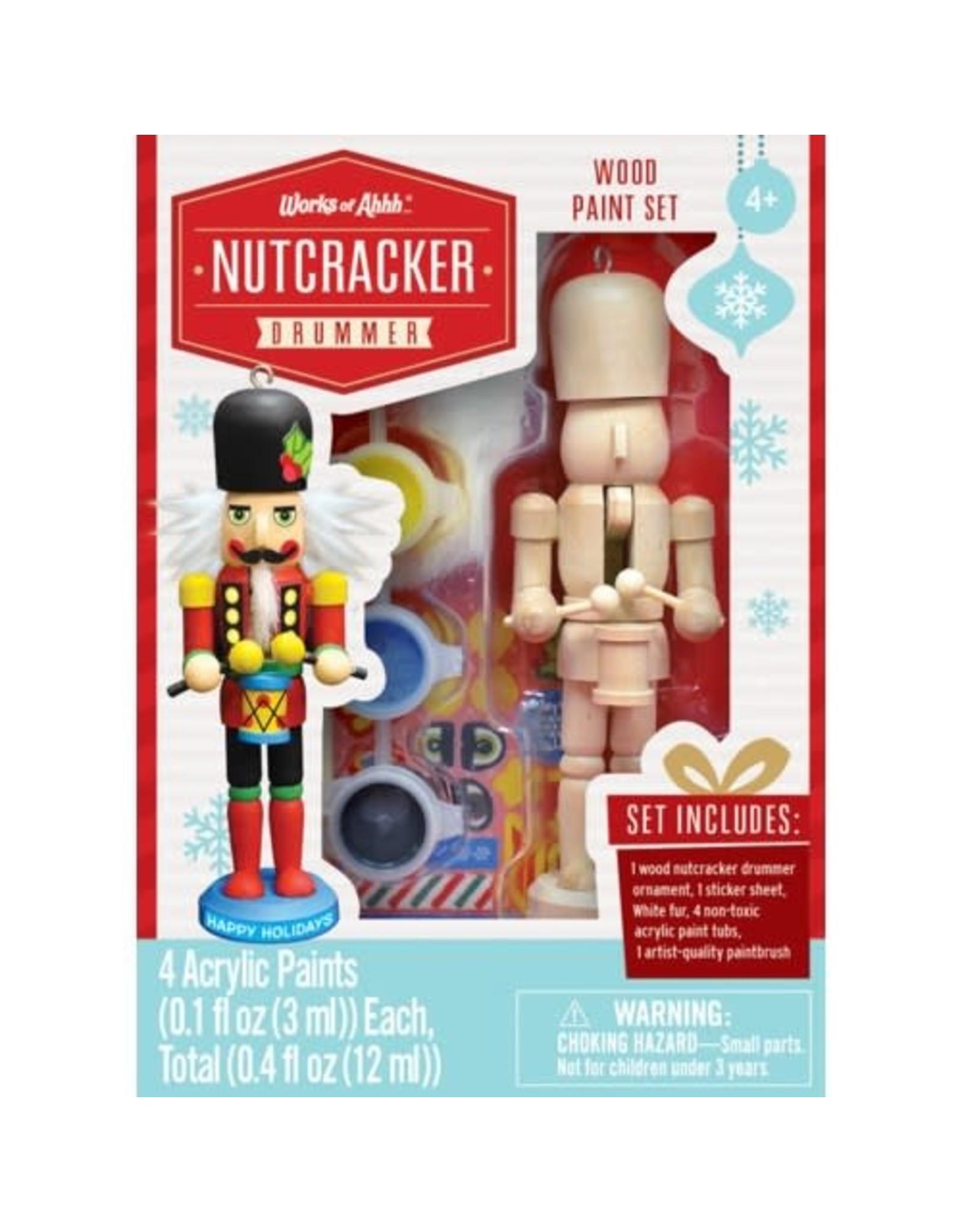 Master Pieces Paint Kit - Nutcracker Drummer Ornament