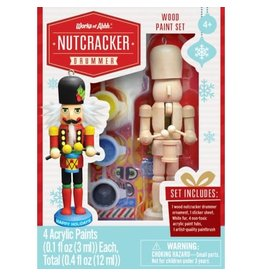 Master Pieces Paint Kit - Nutcracker Drummer Ornament