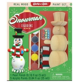 Master Pieces Paint Kit - Snowman Ornament