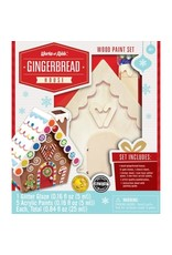 Master Pieces Paint Kit - Gingerbread House