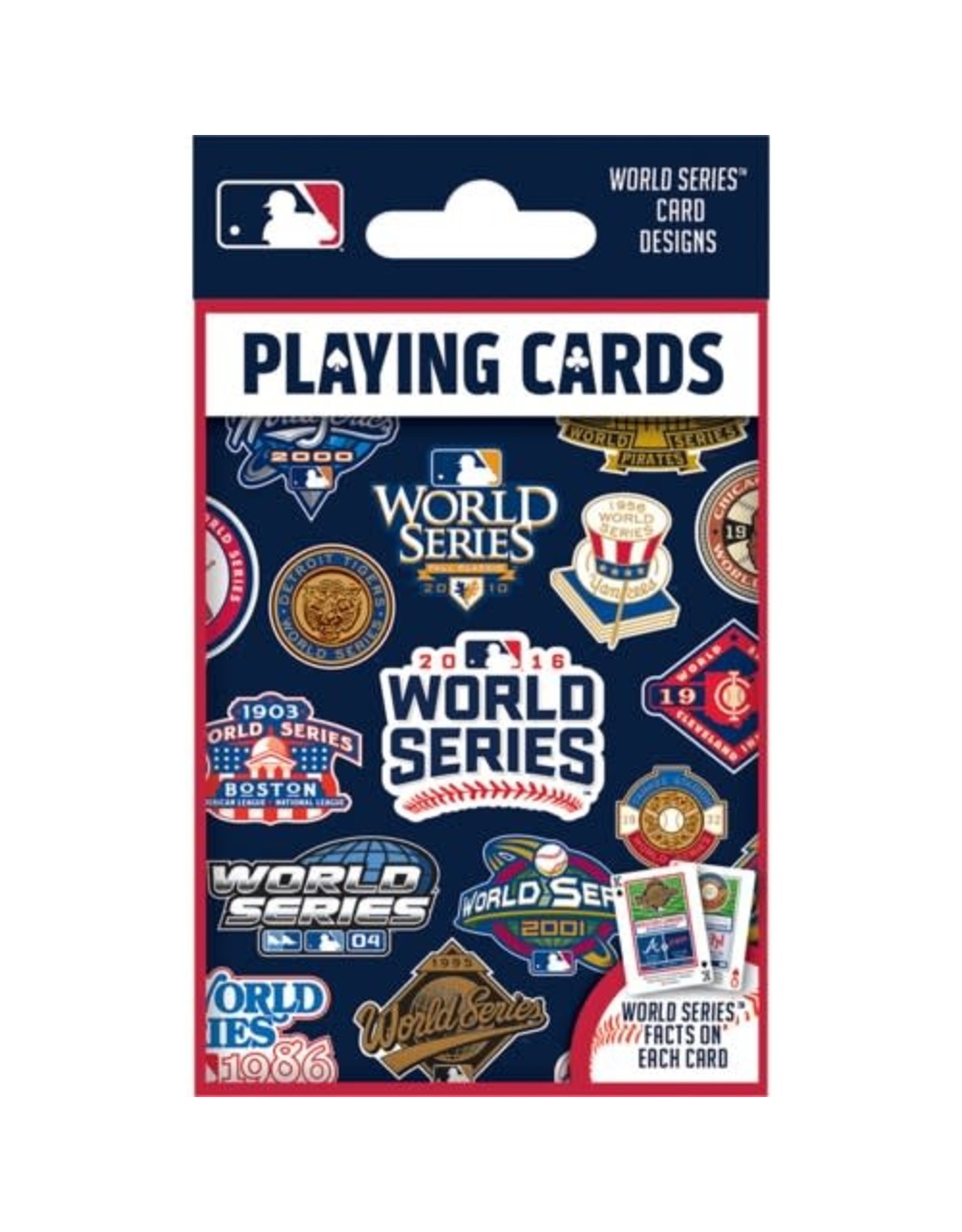 Master Pieces MLB World Series Playing Cards