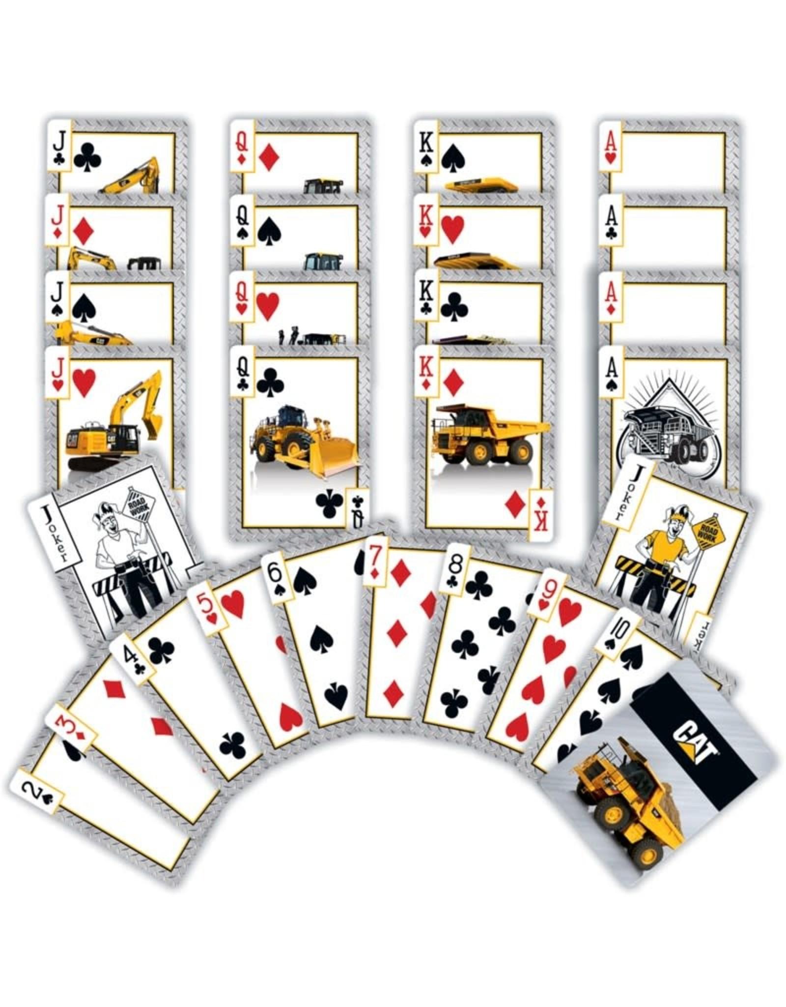 Master Pieces Caterpillar Playing Cards
