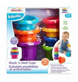 Kidoozie Stack N Nest Cups