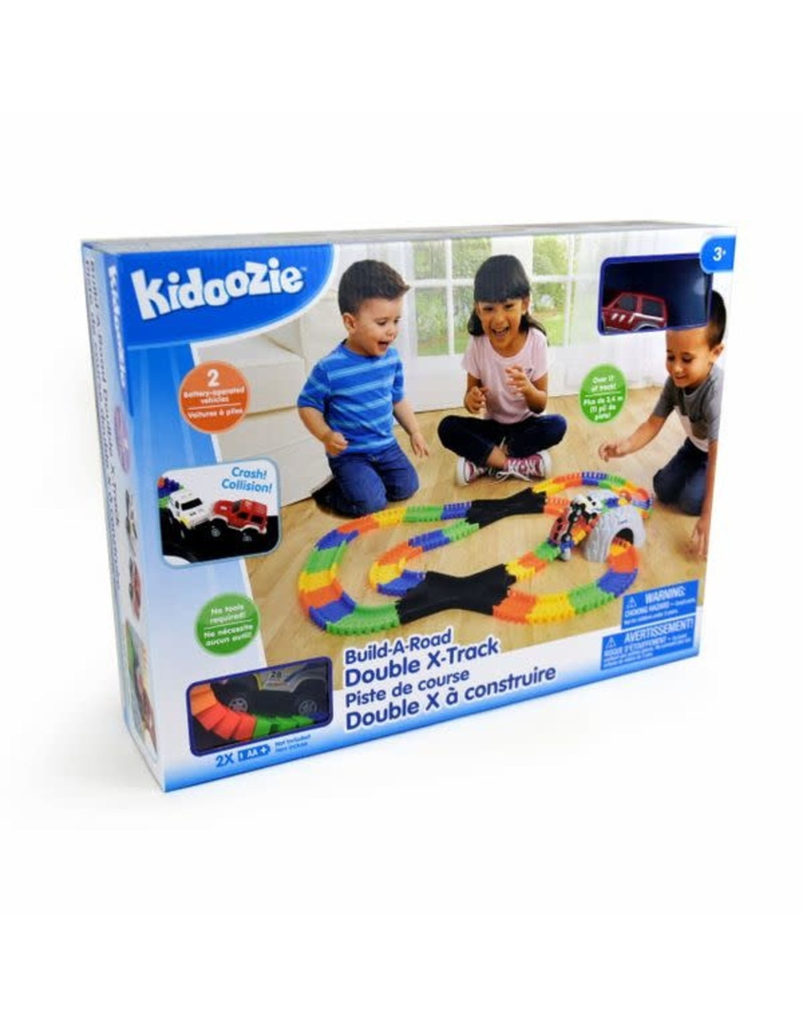 Build-a-Road Double X-Track Kidoozie