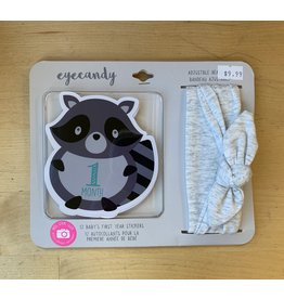 Eyecandy Baby 12 pack Headwrap and Sticker Set