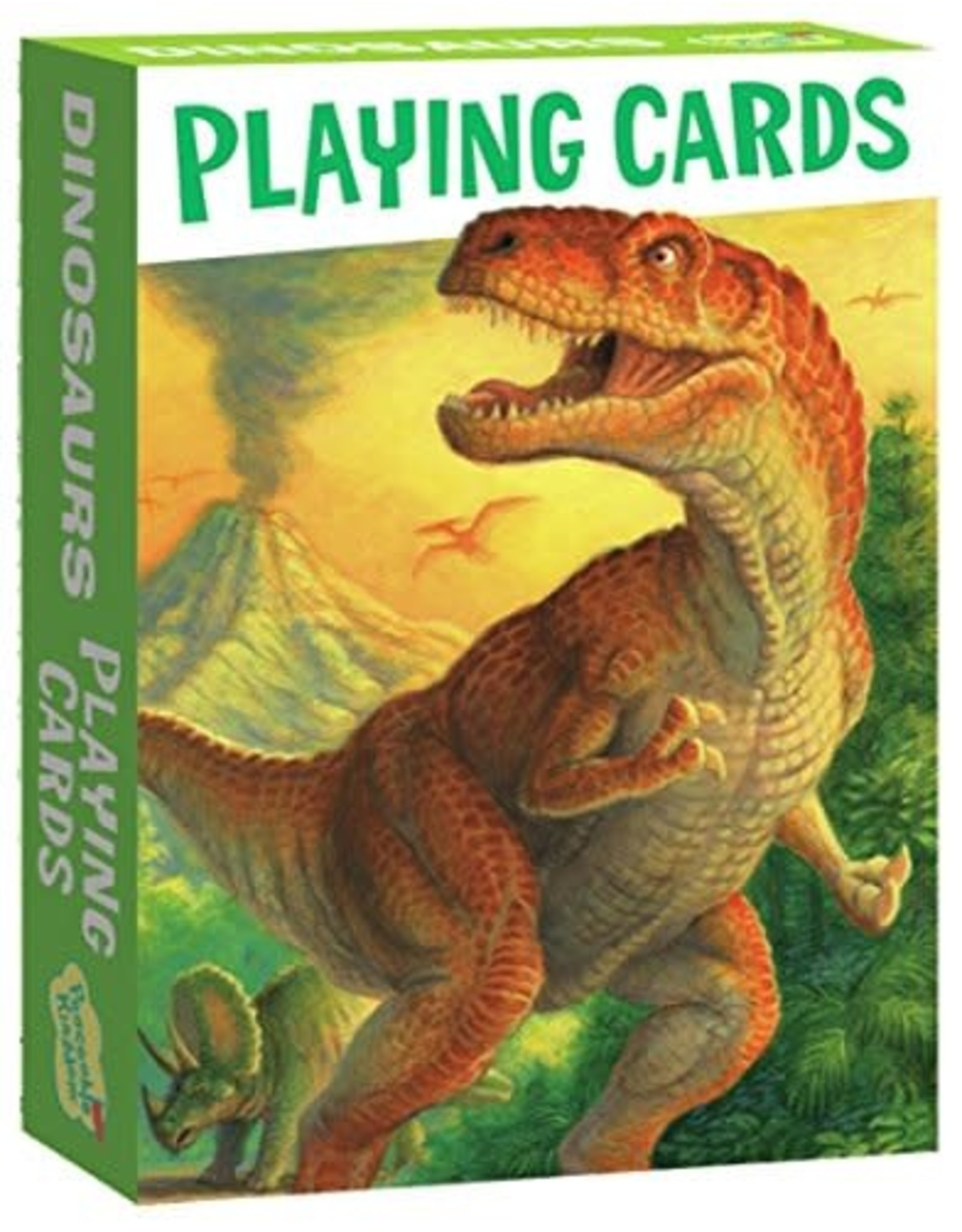Peaceable Kingdom Dinosaur Playing Card Pack