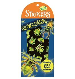 Peaceable Kingdom Bug And Spider Glow-In-The-Dark Stickers