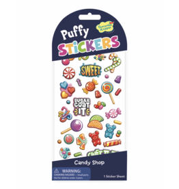 Peaceable Kingdom Puffy: Candy Shop Stickers