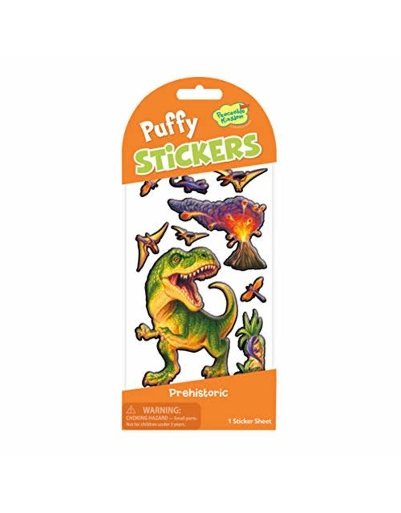 Peaceable Kingdom Puffy: Prehistoric Dinosaur Stickers