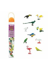 Safari Exotic Birds Toob
