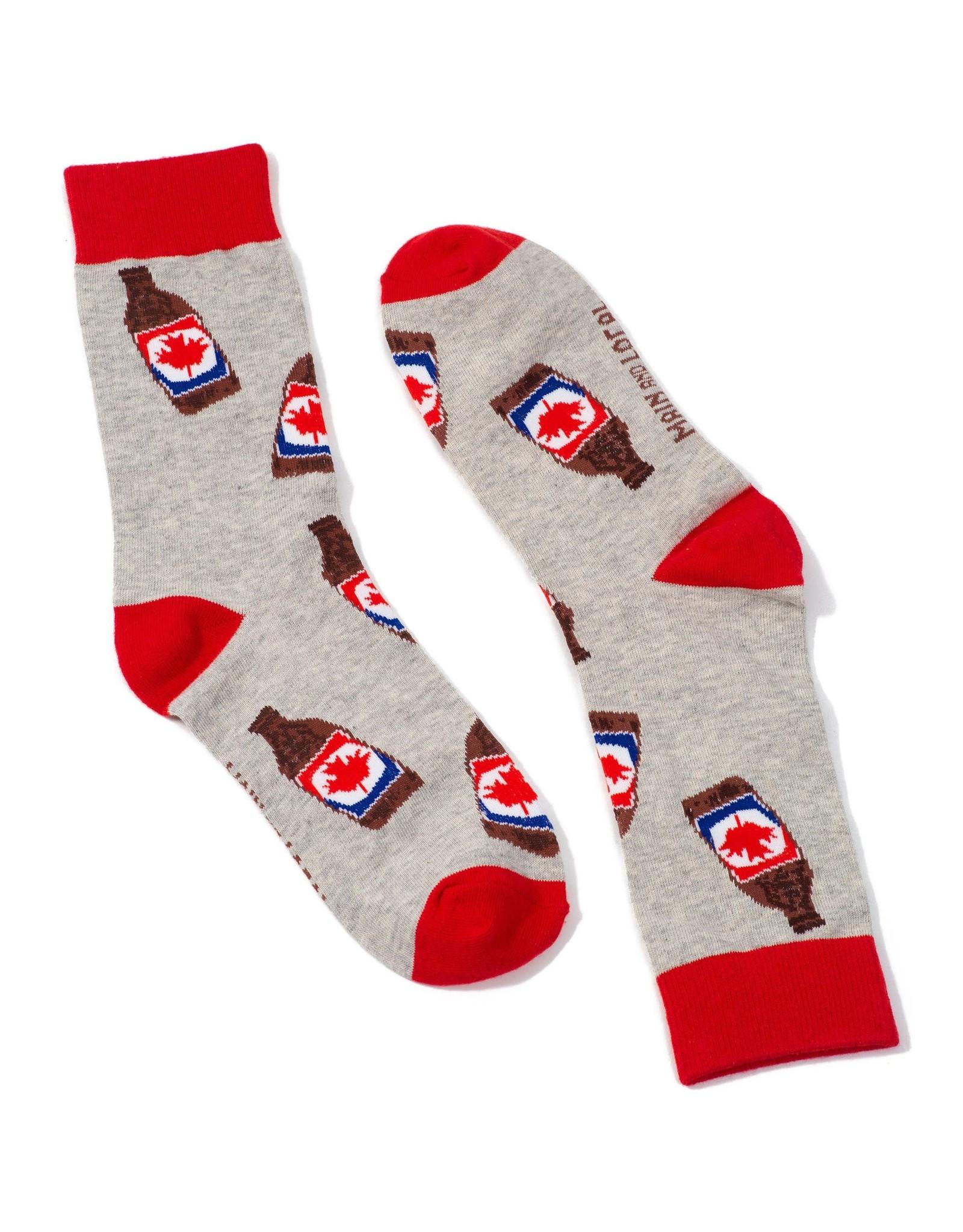 Main & Local Canada Beer Socks